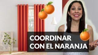 ¿Cómo Combinar el color Naranja con otros Accesorios Decorativos?