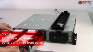 Installation Tutorial video for APC RBC22/RBC23/RBC24/RBC132/RBC133 Replacement batteries.