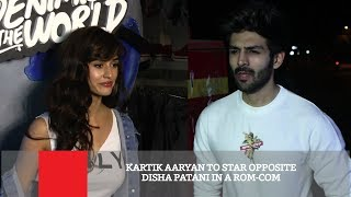 Kartik Aaryan To Star Opposite Disha Patani In A Rom Com