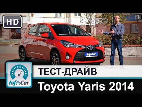Toyota  Yaris Хетчбек класса B - тест-драйв 3