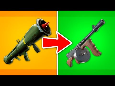 Top 10 Vaulted Fortnite Weapons Ranked Worst To Best Top5gaming