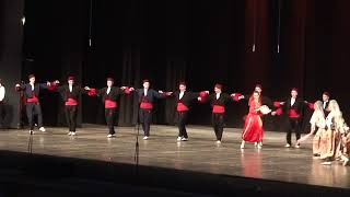 Serbian folklore ensemble `HAJDUK STANKO`Sabac, `Suit of Vranje`