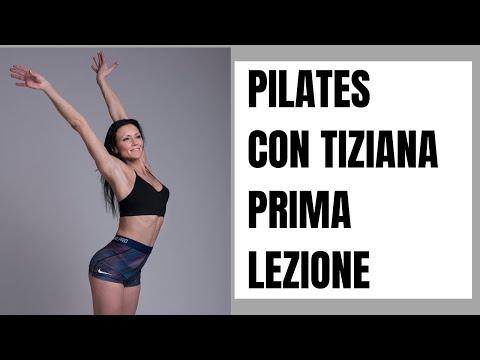 Prima lezione di pilates:: lezione in italiano