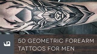 60 Geometric Forearm Tattoos For Men