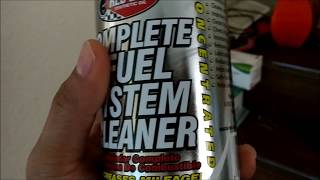 Does Redline Complete Fuel System Cleaner SL-1 Works?  YES!!!  With Evidence!!!