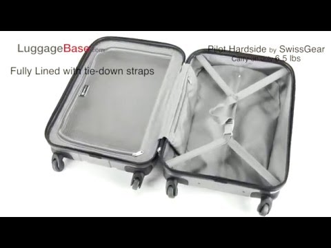SwissGear Pilot Hardside Luggage Set Review – LuggageBase.com