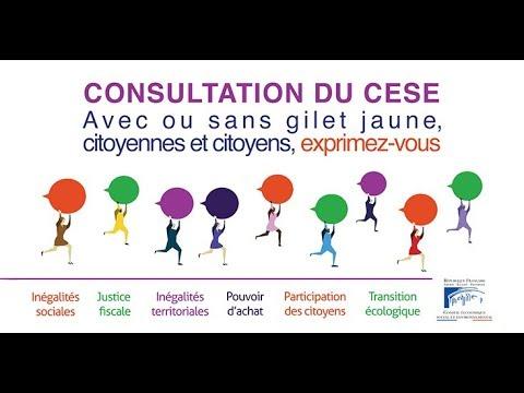 Mobilisation des Gilets Jaunes : le CESE lance une consultation citoyenne