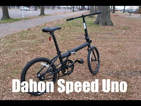 Dahon Speed Uno Folding Bike Review