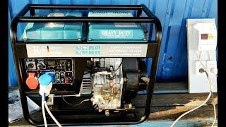 Дизельный генератор Konner & Sohnen KS 9100 HDE-1/3 ATSR от компании ПКФ «Электромотор» - видео 1