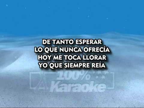 Julio Iglesias   Me Olvidé De Vivir   Karaoke MM