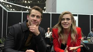 NYCC - Josh Dallas & Melissa Roxburgh (2)