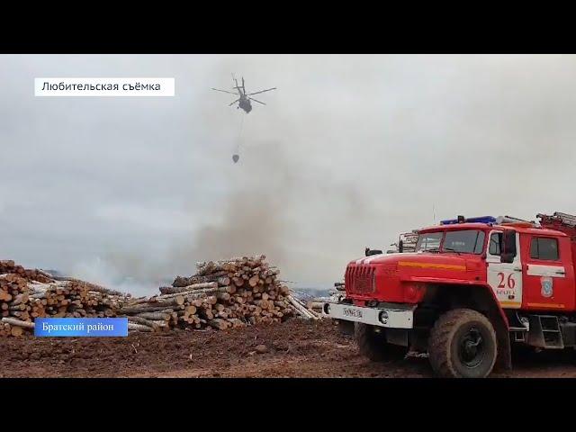 Установлена предварительная причина пожара в Братском районе