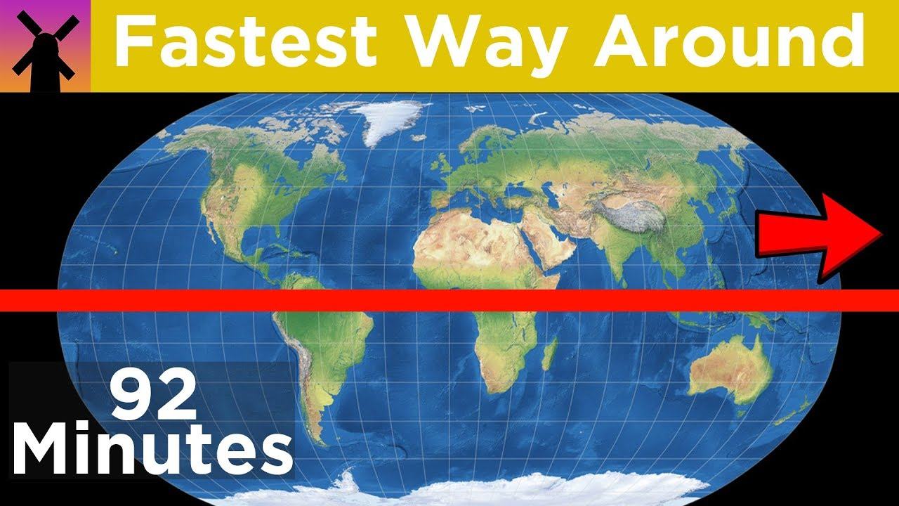 How Fast Can You Travel Around the World? thumbnail