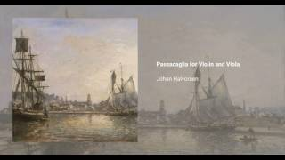 Passacaglia for Violin and Viola