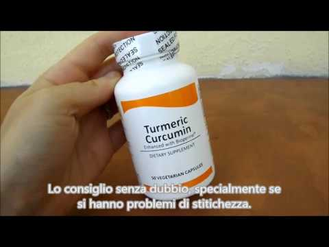 Radice di Curcuma 50 Capsule Vegetariane Real Herbs