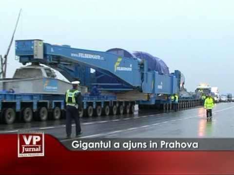 Gigantul a ajuns in Prahova