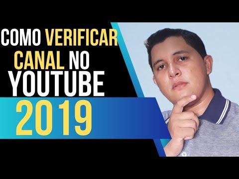 Como Verificar Canal no Youtube 2019