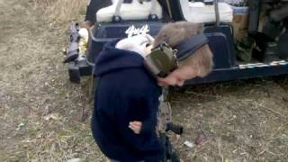 Shooting The Ak47 With The Kids