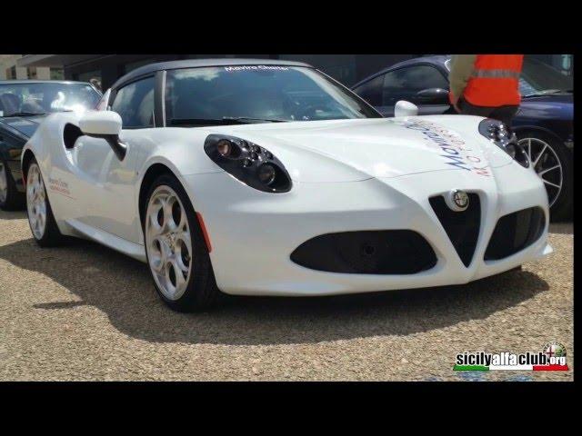 Alfa Romeo e Abarth insieme autodromo mbr 2016