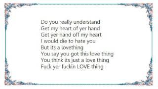Bratmobile - Love Thing Lyrics