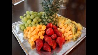 Cool Fruit Tray Arrangement Ideas