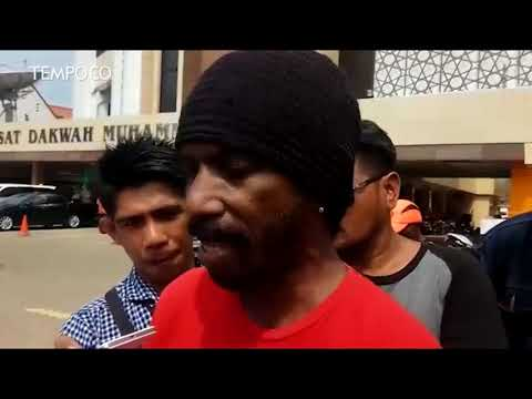Aksi Ratusan Pegawai Freeport Asli Papua di Jakarta
