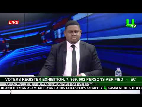 Voters Register Exhibitio :7,969,902 Persons Verified-EC Acknowledges Human & Administrative Errors