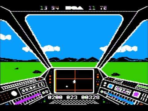 Skyfox for the Apple II