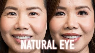 Simple Natural Matte Eye Makeup For Hooded Or Asian Eyes That Can Be An Everyday Look