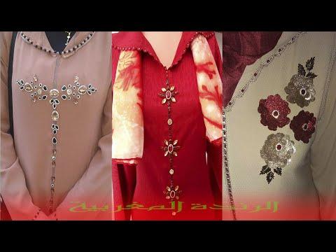 914798bb77363 أجمل موديلات الرندة خفيفة للجلابة و القفطان2019😍😍 modelat randa 2019😍😍  - الرندة المغربية - imclips.net