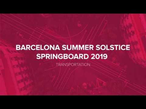 E2E Summer Solstice SpringBoard 2019 Highlights | Transportation