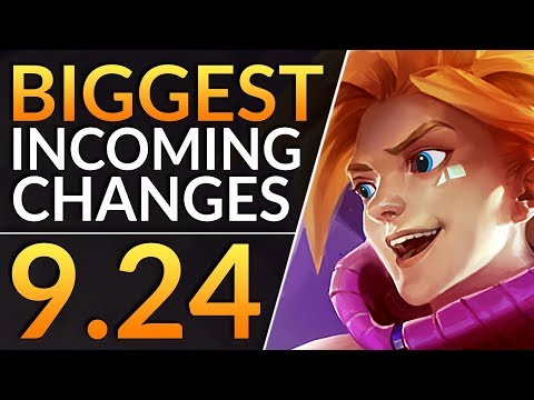 BIGGEST Changes of 9.24 - BUFFS, NERFS and REWORKS - Best Meta Tips | LoL Patch 9.24 Guide