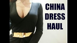 EBAY DRESS UNBOXING - BUYING DRESSES FROM CHINA - TRY ON HAUL