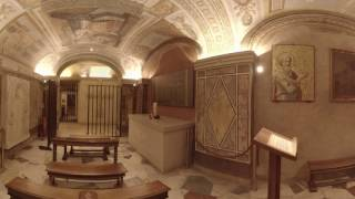 360 Video: Inside the Tomb of St. Peter at the Vatican