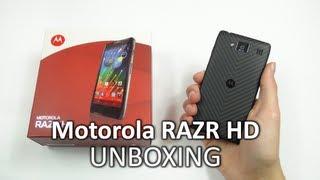 Unboxing: Motorola RAZR HD | SwagTab
