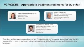 PL VOICES - Appropriate treatment regimens for H. pylori