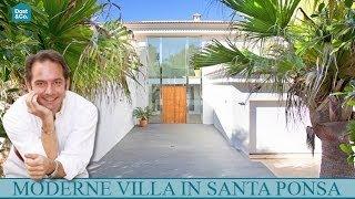 preview picture of video 'Hochmoderne Villa in Santa Ponsa, Mallorca'