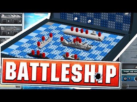 SINKING TEWTIY'S BATTLESHIPS - BATTLESHIP BOARD GAME (видео)
