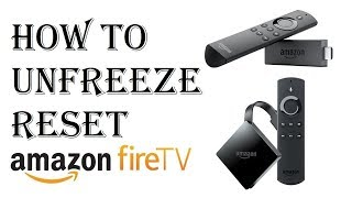 How to Reset Restart Amazon Fire TV - How to Unfreeze Amazon Fire Stick