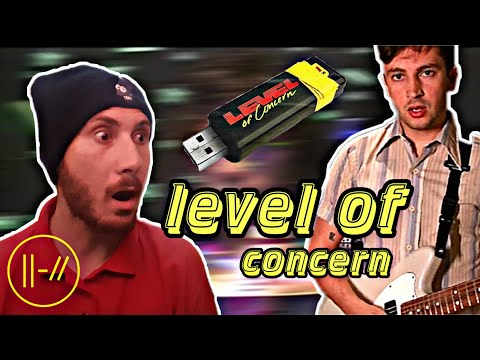 twenty one pilots - LEVEL OF CONCERN VIDEO REACTION!!