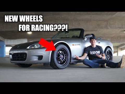 I Got New Wheels for my S2000!