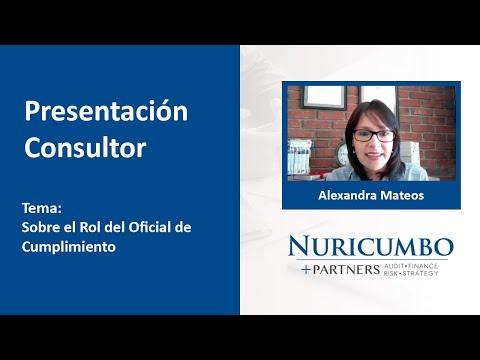 Cápsula de Presentación: Alexandra Mateos