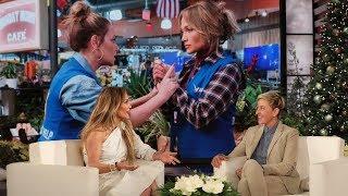 Jennifer Lopez Was Surprised By Her Friend Leah Remini's Onscreen Slaps
