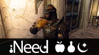 Skyrim Mod: iNeed - Food, Water and Sleep