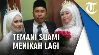 Viral Seorang Pria Ditemani Istri Pertamanya saat Nikahi Perempuan untuk Kedua Kalinya