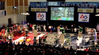 preview picture of video 'FRC North Bay Regionals 2015 Finals Round 2'