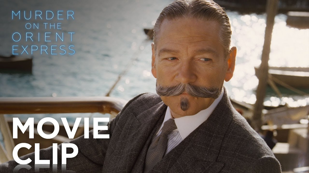 Murder on the Orient Express - I Know Your Moustache