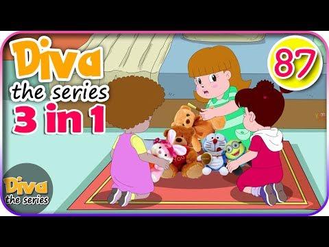 Seri Diva 3 in 1 | Kompilasi 3 Episode ~ Bagian 87 | Diva The Series Official