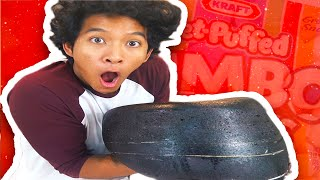 Gambar cover DIY GIANT BLACK MARSHMALLOW!!!