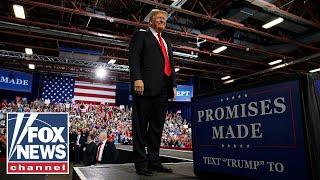 President Trump holds 'MAGA' rally in Montana